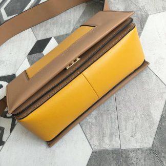 76a802f8b7dc Clearance Celine Medium Frame Shoulder Bag In Tan Sunflower Leather San  Francisco