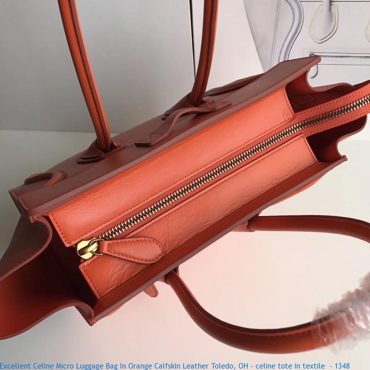 Excellent Celine Micro Luggage Bag