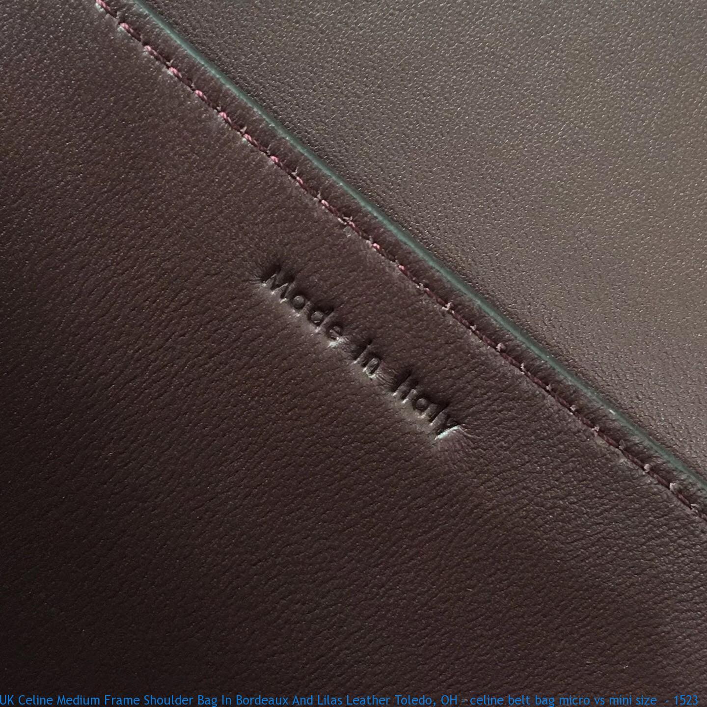 Uk Celine Medium Frame Shoulder Bag In Bordeaux And Lilas Leather Toledo Oh Celine Belt Bag Micro Vs Mini Size 1523 Celine Bag Replica Buy Fake Celine Bags Online Replicacelinesim